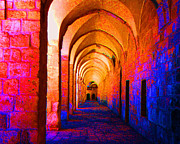 Arches Surreal Print by Merton Allen