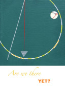 Green Drawings - Are we there yet by Loraine LeBlanc