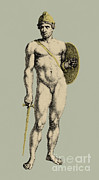 Greek Warrior Art - Ares, Greek God Of War by Photo Researchers