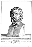 Statue Portrait Photo Prints - ARISTOPHANES (c450-c388 B.C.) Print by Granger