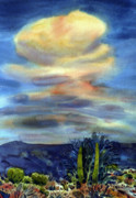 Thunderhead Posters - Arizona Thunderhead Poster by Donald Maier