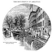 Arkansas Posters - Arkansas: Hot Springs Poster by Granger