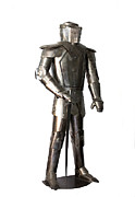 Medieval Sculptures - Armadura Medieval. Medieval suit of armor. by Antonio Carpenito