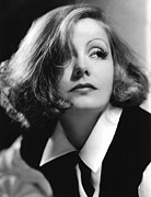Thin Eyebrows Posters - As You Desire Me, Greta Garbo, Portrait Poster by Everett