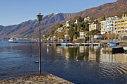 Mountain View Photo Framed Prints - Ascona - Lake Maggiore Framed Print by Joana Kruse
