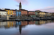 Sunset Light Photos - Ascona at night by Joana Kruse