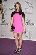 The 2011 Cfda Fashion Awards Framed Prints - Ashley Greene At Arrivals For The 2011 Framed Print by Everett