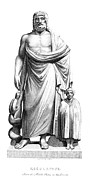 Toga Metal Prints - Asklepios Metal Print by Granger