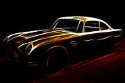 Import Car Digital Art - Aston Martin DB5 by Wingsdomain Art and Photography