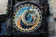 Astronomical Clock Framed Prints - Astronomical Clock  Framed Print by Pravine Chester