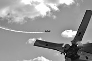 Loop De Loop Prints - At the Airshow Print by Don Youngclaus