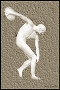 Athlete Mixed Media - Athlete 2 by Debra     Vatalaro