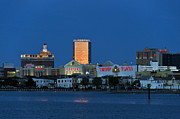 Bally Prints - Atlantic City skyline Print by John Greim