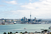 Yurix Prints - Auckland City New Zealand Print by Yurix Sardinelly