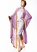 Gold Trim Prints - Auntie Mame, Rosalind Russell, 1958 Print by Everett