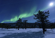 Green Energy Framed Prints - Aurora Borealis, Forramarka, Troms Framed Print by Arild Heitmann