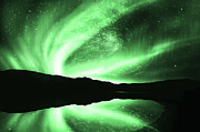 Northern Lights Prints - Aurora Print by Setsiri Silapasuwanchai