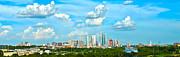 Austin Cityscape Print by Andrew Nourse