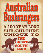 Dalrymple Prints - Australian Bushrangers  Print by GD Bruny