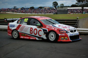 Australian Ford Photos - Australian Racing Car Driver Brad Jones by Cheryl Hall