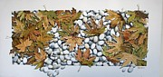 Plane Paintings - Autumn by Costis Hatzioannou