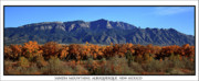 Sandias Framed Prints - Autumn in New Mexico Framed Print by Anthony Sekellick