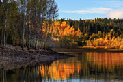 Vacation Lakes Prints - Autumn in the Wasatch Mountains Print by Utah Images