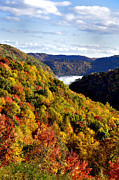 Autumn Scene Photos - Autumn Mountain by Thomas R Fletcher