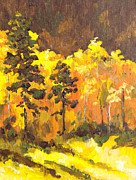 Rim Paintings - Autumn Splendor by Sandy Tracey
