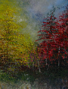 Sherry Robinson Art - Autumn Sunshine by Sherry Robinson