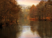 Autumn's Ending Print by Jessica Jenney