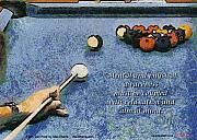 Awareness Zen Pool Print by Max Eberle