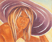 Brigitte Bardot Paintings - B B by Varvara Stylidou