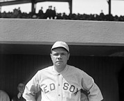 Red Sox Photo Posters - Babe Ruth, 1919 Poster by Everett