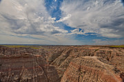 Bad Lands Prints - Badlands South Dakota Print by Bill Rogers