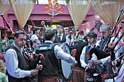 Bagpipers Prints - Bagpipes Print by Jerry Patterson
