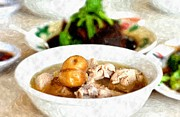 Southeast Asia Paintings - Bak Kut Teh by Rakratchada Torsap