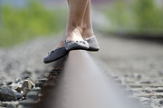 Steal Photos - Balance on railroad tracks by Mats Silvan