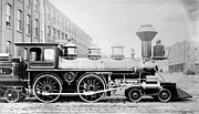 1870 Photos - Baldwin Locomotive, 1870 by Granger