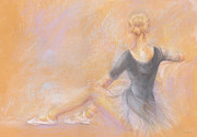 Dancer Pastels Originals - Ballerina by Jovica Kostic