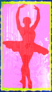 Ballet Dancers Posters - Ballet Dancer Poster by David G Paul