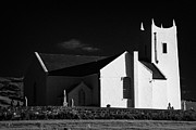 Parish Church Framed Prints - Ballintoy Parish Church Ballintoy County Antrim Northern Ireland Framed Print by Joe Fox