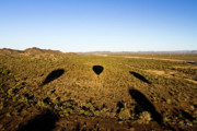 Ballooning Prints - Balloon Shadows Print by Scott Pellegrin