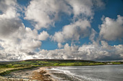 Atlantic Ocean Metal Prints - Ballycastle Bay Metal Print by Marion Galt