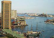 Inner Harbor Photos - Baltimore by Debbi Granruth