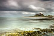 Long Distance Framed Prints - Bamburgh Castle Bamburgh Northumberland Framed Print by John Short