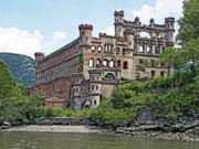 Francis Posters - Bannerman Castle on Pollepel Island in the Hudson River New York Poster by Brendan Reals