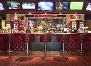 Sports Bar Prints - Bar at an American Style Diner Print by Jaak Nilson