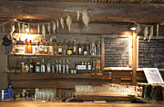 Menu Prints - Bar With a Rustic Decor Print by Jaak Nilson