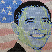 Obama Mixed Media - Barack Obama by Claire  Milner
